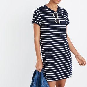 [Madewell] Striped Pocket Tee Dress